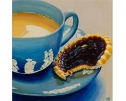 Afternoon Tea (Teacup Wedge) by Kim Haskins