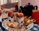 Boiled Egg & Soldiers by Angela Lyons