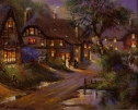 Cotswolds by Night (2) by Gordon Lees