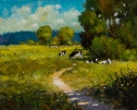 Cows In The Shade (1) by A.W Smith