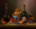 Laurent Perrier Rose by Raymond Campbell
