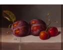 Plums & Cherries by Raymond Campbell