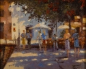 Shadows In The Square by Brian Jull