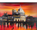 Sunset Over Venice by Edward Waite